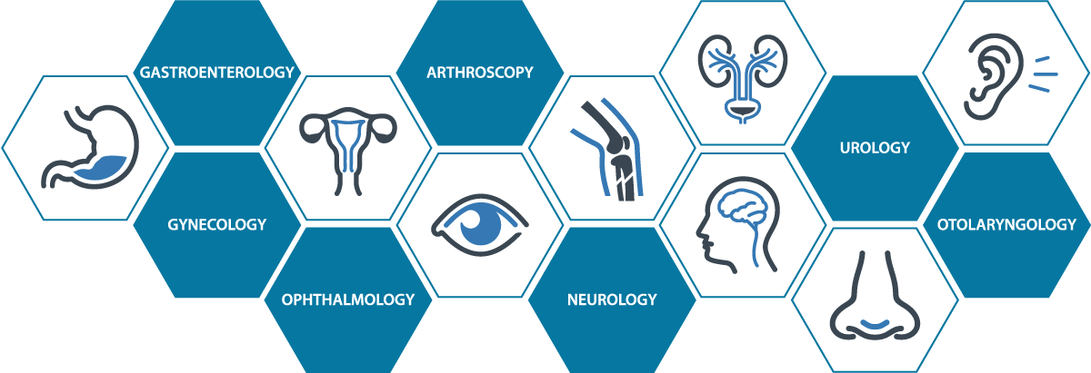 Medical specialties using Medicapture's video recorders include gastroenterology, gynecology, ophthalmology, orthopedics, arthroscopy, otolaryngology, neurology, urology and more.