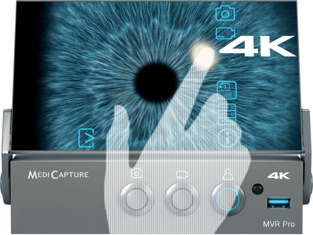 MVR Pro 4K using Touch Screen